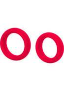 Colt Silicone Super Rings Red 2 Pack