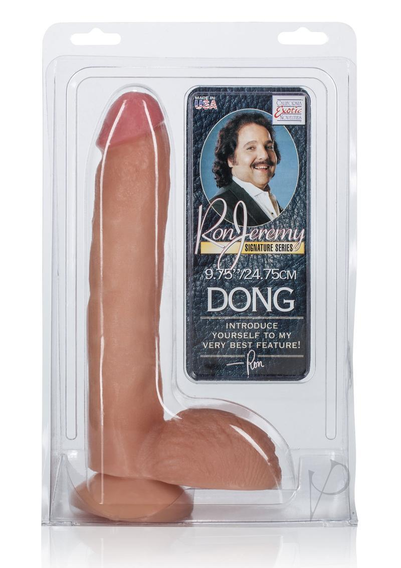 Ron Jeremy Dong With Balls 8in - Vanilla